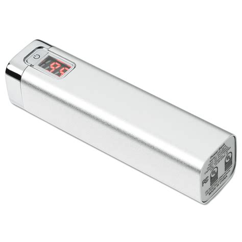 Power Bank Digital 4imprint Digital Display Power Bank 130888 Imprinted With Your Logo
