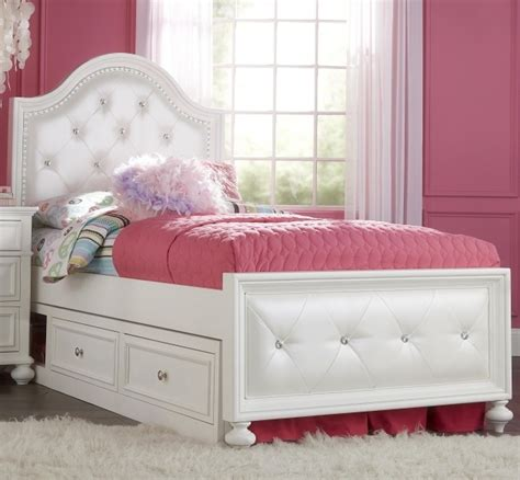 full size white headboard white captain bed design using tufted full size headboard