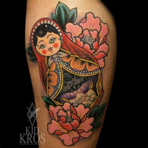 russian doll tattoo 1000 ideas about russian doll on