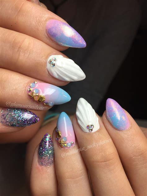 nail nail designs mermaid nails nails mermaid nails