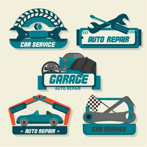 Auto Logo Images by Auto Repair Logos Vector Free
