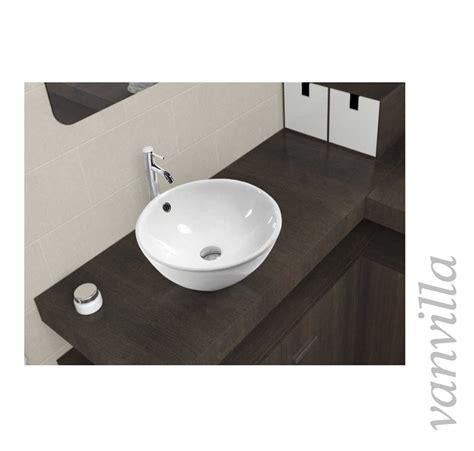 waschtisch aufsatzbecken waschbecken keramik aufsatzbecken rund aufsatzwaschbecken