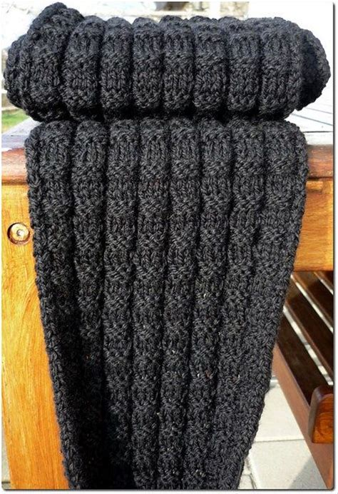 free mens scarf knitting patterns crochet and knit
