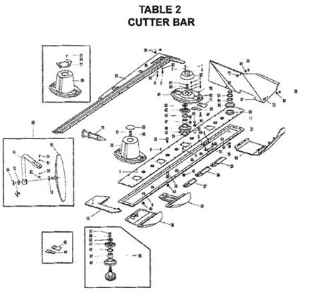 kuhn mower parts diagram kuhn gmd 66 parts pictures to pin on pinsdaddy