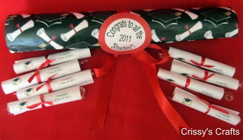Graduation Giveaways - make smarties diploma graduation favors 187 dollar store crafts