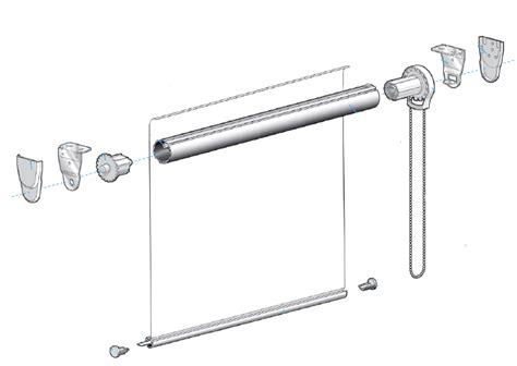 bastoni per tende a rullo tenda a rullo su misura offertissima ebay