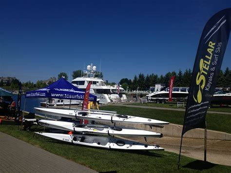 bay harbor boat show surfski shows and expos and a small setback tc surfski