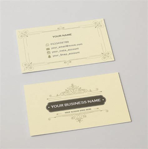 fancy business card templates 26 luxury business card free psd vector ai eps format