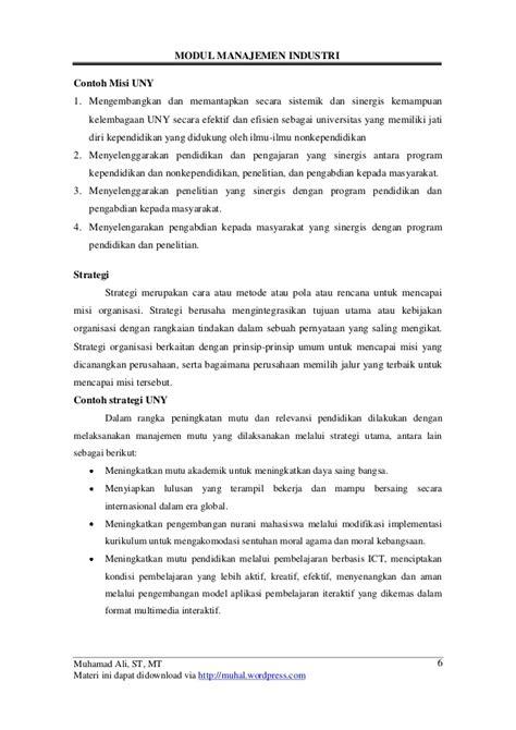 Modul Ut Manajemen Perilaku Organisasi modul manajemen industri muhal