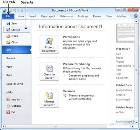 how to save a template in word save document in word 2010