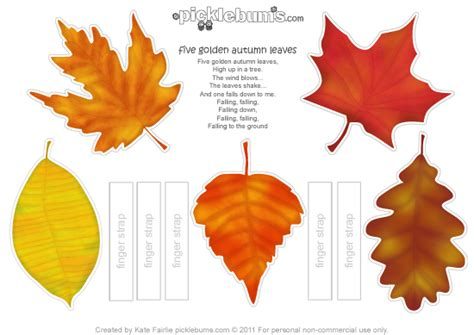 fall leaves printable activities five golden autumn leaves printables 4 mom