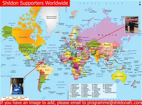 world map and tobago shildon supporters turkish branch