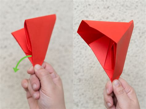 Make Paper Origami - how to make an origami banger 13 steps with pictures
