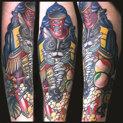 circus tattoo sleeve www imgkid com the image kid has it