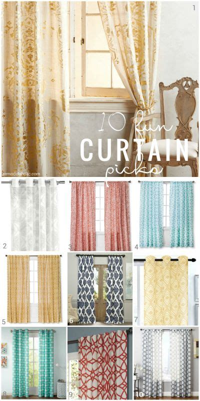 Patterned Door Curtains 341 Best Images About Curtains On Window