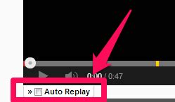 Youtube Auto Replay by Youtubeをリピート再生 Chrome拡張 Auto Replay For Youtube Plus1world