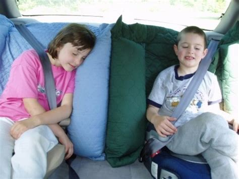 comfortable ways to sleep in a car nappernoo the kid comfort car seat pillow to use with