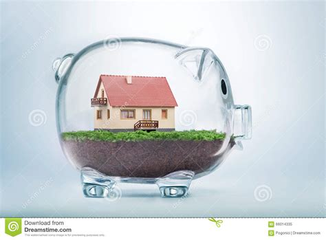 saving money to buy a house saving to buy a house or home savings concept stock photo image 66014335