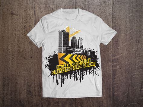 Tshirt Construction 47 professional construction t shirt designs for a