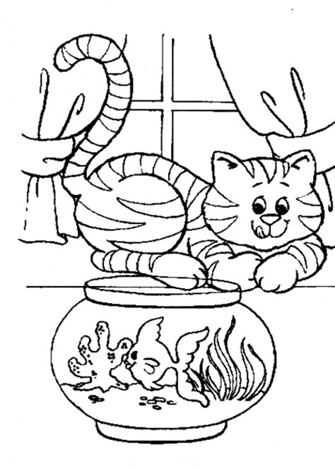 the three little kittens lost their mittens coloring page
