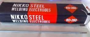 Kawat Las Nikko 2 6 Mm Rd 260 kawat las elektroda nikko steel rd 260 2mm cipta teknik
