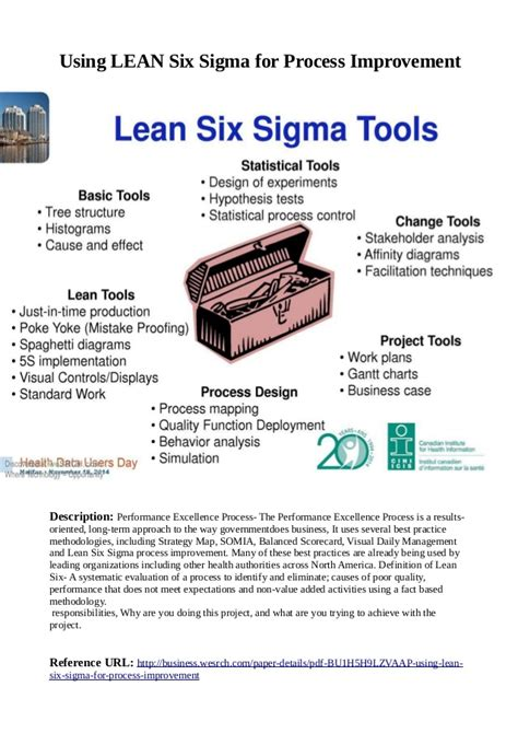lean six sigma for how improvement experts can help in need and help improve the environment books using lean six sigma for process improvement