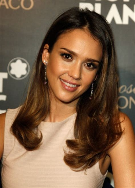 jessica alba soft curls hairstyle popular haircuts