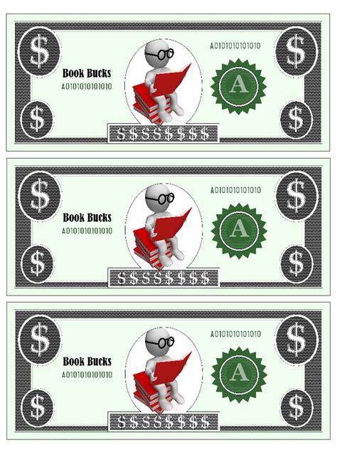 classroom bucks template 6 best images of printable reward bucks printable reward