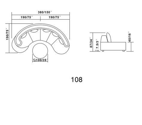 modernes sofa 108 dreamfurniture 108 modern bonded leather sectional
