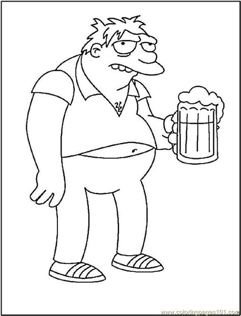 barney coloring pages games barney gumble coloring page free barney coloring pages