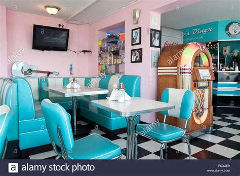 50s interior 50s interiors pinterest interiors interior of bobby jo s 50 s diner eastern esplanade stock