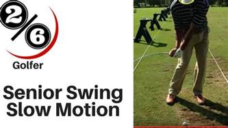 youtube golf swing slow motion senior golf swing slow motion 21 of 100 masters youtube