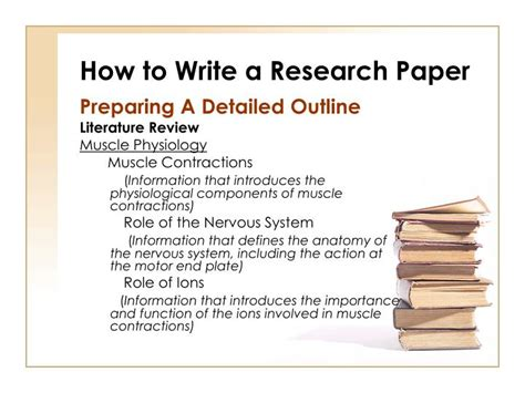 how to write a review paper ppt how to write a research paper powerpoint