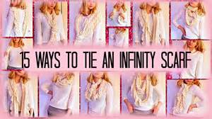How To Wrap An Infinity Scarf 15 Ways To Wear An Infinity Scarf