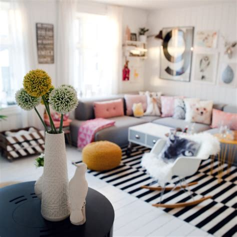 skandinavische wohnkultur a bright nest sure to put a smile on your