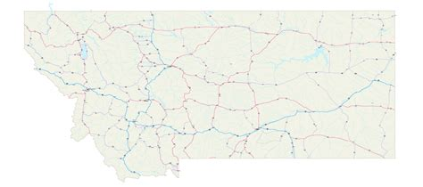 montana road conditions map montana map montana maps montana road map montana state map