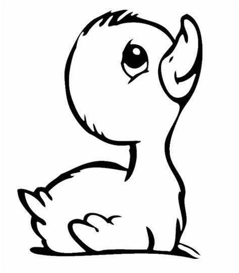 mother duck coloring page cute baby duck coloring pages coloring home