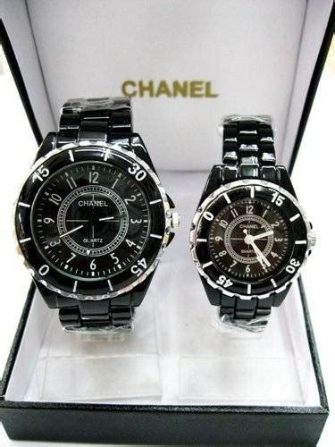 Jam Tangan Channel Black dinomarket 174 pasardino jam tangan
