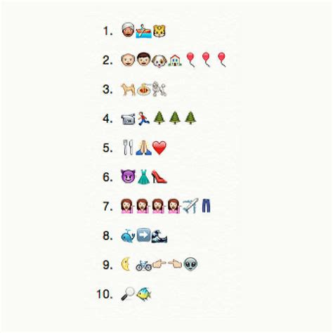 film brief junge emoji quiz the emoji challenge can you guess these titles