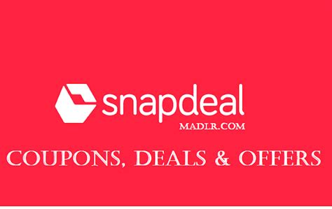 snapdeal mobile app coupons free snapdeal coupons promo codes offers 80