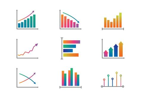 color graph color graphs and charts vector free vector