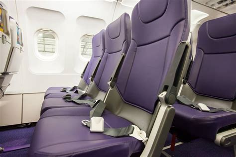 New Seat Upholstery by Monarch Airways Adds Non Reclinable Seats Economy