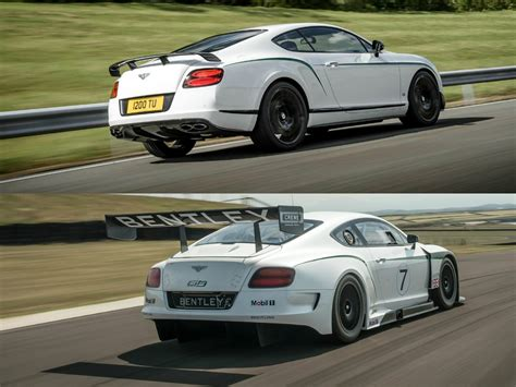 bentley gt3r custom bentley continental gt3 r vs gt3 racecar comparison how