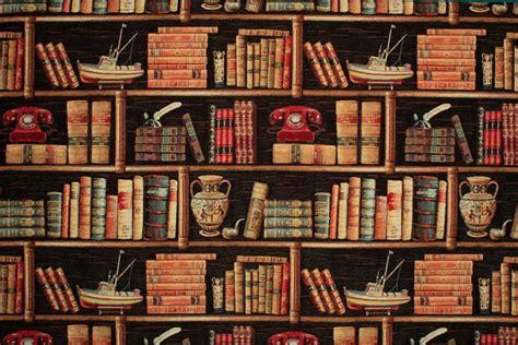 Bookcase by Dekostoff Gobelin B 252 Cherregal