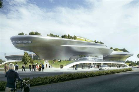 Future Building Designs by The Lucas Museum Of Narrative Art Will Bring A Massive 11