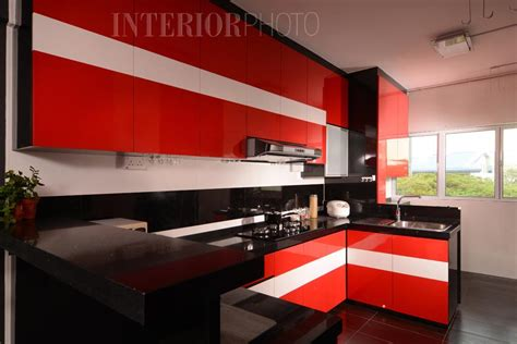 black and red kitchen ideas black white and red kitchen designs