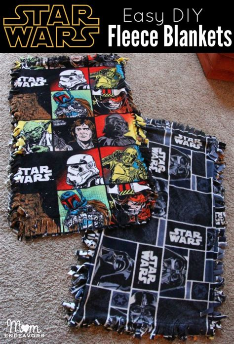 diy wars easy diy wars fleece blankets