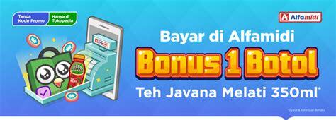 Terbaru Teh Javana bonus 1 botol teh javana melati 350ml tiap bayar di alfamidi