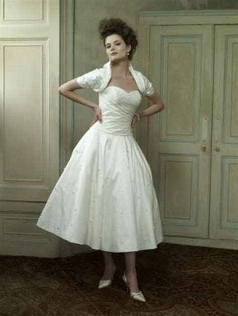 Brautkleider 50er Stil by Brautkleider 50er Stil