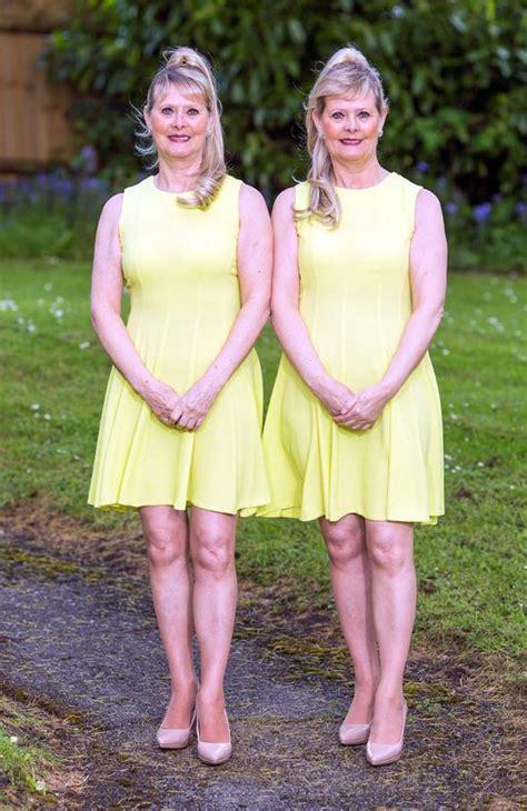 Dcc Dress Kathy Baju Kembar si kembar kathy dan rosey selalu gunakan baju sama hingga